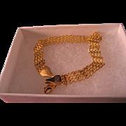 14 K Yellow Gold Bracelet