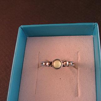 1960's Variscite Sterling Silver Ring