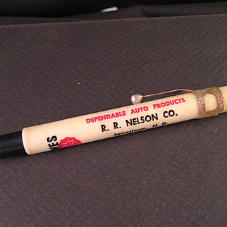 1950's Bowe's Seal Fast Grease Pen