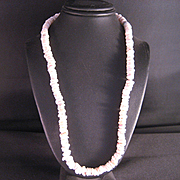 1970's Hawaiian Puka Shell Necklace