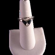 Vintage Sterling Silver Ring Set