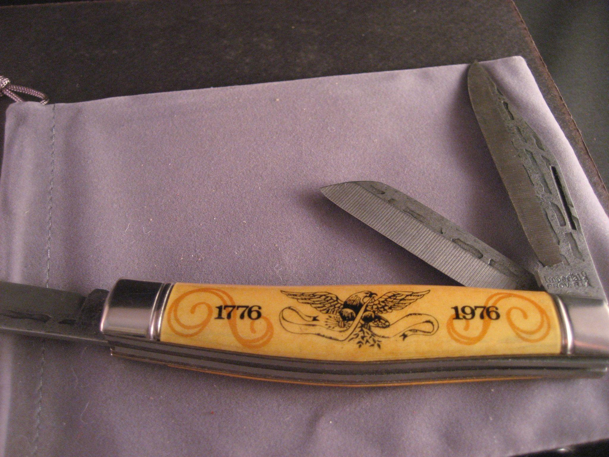 vintage bicentennial hand forged