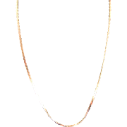 Vintage 14 K Yellow Gold Cobra Chain