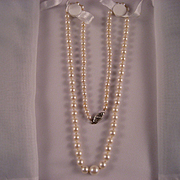Vintage Akoya Pearl Necklace