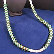Vintage Santo Domingo Pueblo Heishi Necklace