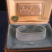 Vintage Lady Elgin Watch Gift Box Only