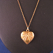 Vintage Child's Heart Lockett