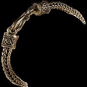 Vintage Sterling Silver Bali Bracelet