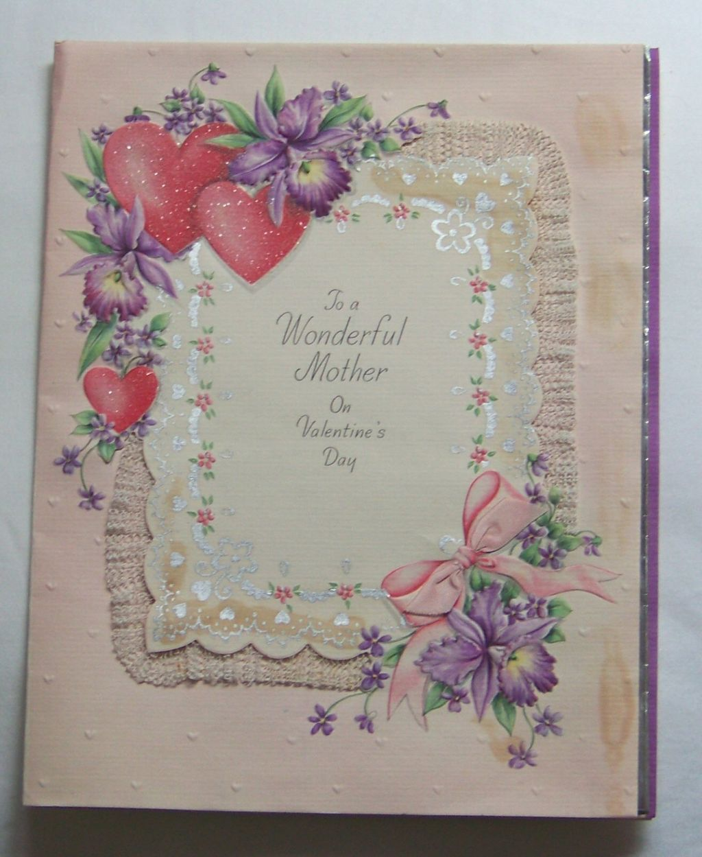 Valentine 39 S Day Card For Mother Hallmark 1940 39 S