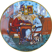 Plate: Norman Rockwell - April Fool - 1978 - Ghent-Gorham