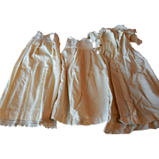 Doll Clothes - 6 pieces - Vintage ca. 1915 - Need Work