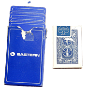Playing Cards - Eastern Airline & Bicycle miniature - Decks