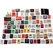 Matches - 92 different - ca. 1970s-90s -  books, boxes - used