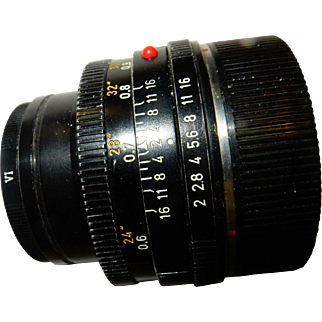 Leitz Summicron f1.2 50mm Lens - Leica - made in Germany -
