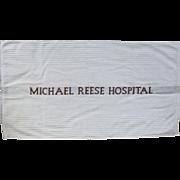 Michael Reese Hospital Hand Towel - unused!