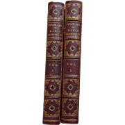 Book: Private Life of Marie Antoinette - Madame Campan - 2 vol.