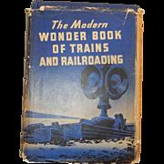 Railroad Book: Wonder Book of Trains & Railroading