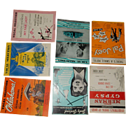 Sheet Music: 9 Shows & Movies - 20th Century