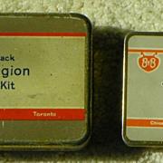 $ALE: Bauer & Black - B&B - Junior Legion First Aid Kits - Vintage