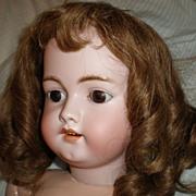 """27"""" German Bisque Child Doll"""