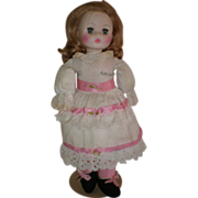 "14"" Horsman Cloth & Vinyl Doll"