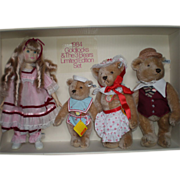 1984 Goldilocks & Three Bears by Steiff/Gibson