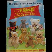 The Great Steiff Bear Catalog - Free Shipping