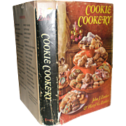 Cookie Cookery - Vintage 1969 Cookie Cookery By John & Hazel Zenker