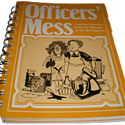Cookbook, OFFICERS' MESS, Favorites From The Officers Of The Bell System Telephone Pioneers