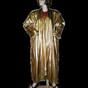 Gold Lame Opera Coat