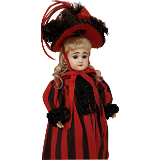 Antique Coat & Hat Only - For 17-18 inch Doll
