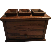 American Civil War Era Foot Warmer Oak Box