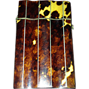 Early to Mid-1800's Shell Calling Card Case