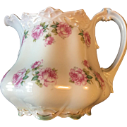 Beautiful MZ Austria Large Cider or Water Pitcher, c.1900