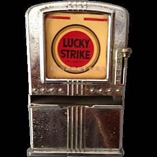 Vintage Lucky Strike Cigarette Dispenser by Listerware