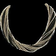 Vintage Tiffany & Co. Sterling Silver Multi-Strand Hefty Necklace