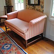 Kittinger Federal Style Mahogany Loveseat Or Small Sofa...Elegant