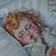 Maud Tousey Fangel Baby Care Book...Copyright 1943