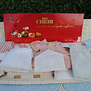 Charming French Trousseau For A Small Doll.....8 Pieces