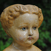 Circa 1870 German Manufactured Papier-Mache
