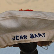 "French ""Jean Bart"" Sailor Hat"