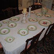Rare Circa 1820 Chamberlain Worcester...15+ pieces
