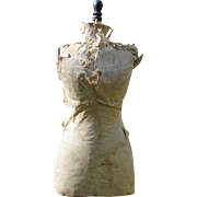 Late 19th c. French Dress Form or Mannequin