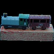 """Unis France"" Tin Train In Original Box"