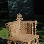 Ornate Victorian Photographers Chair Circa 1890