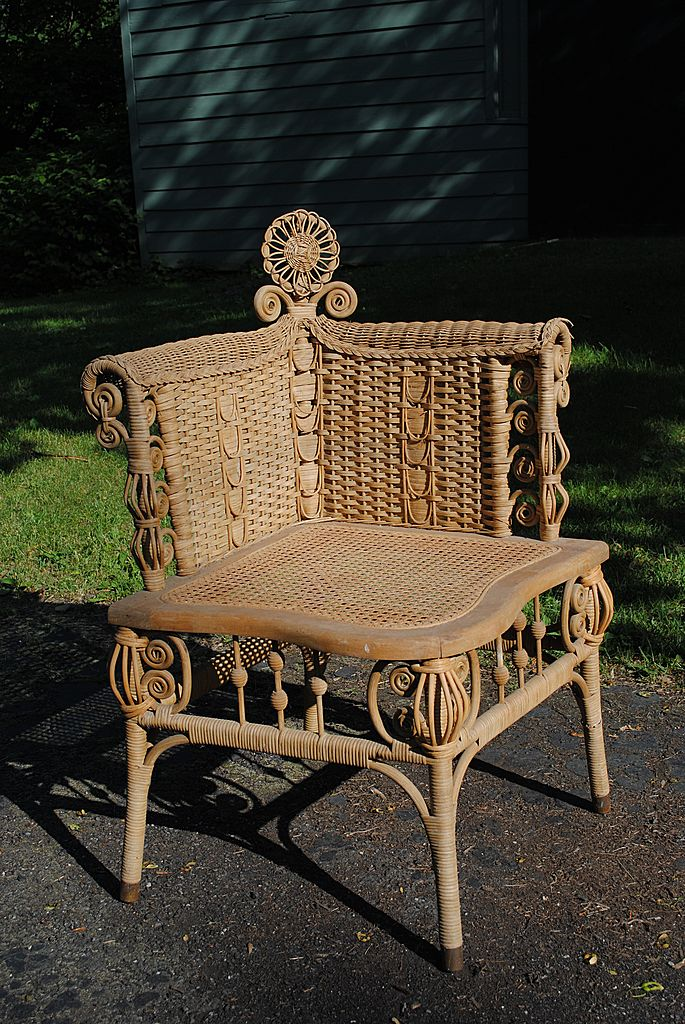 Ornate Victorian Photographers Chair Circa 1890