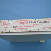 Ideal Shirley Temple Fur Coat and Hat in Original Box
