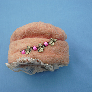 Charming Little Cloche Hat Circa 1900-1920