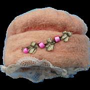 Charming Little Cloche Hat Circa 1900-1920