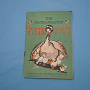 Vintage Booklet of Mother Goose Fairy Tales, Illustrated by Emma Clark